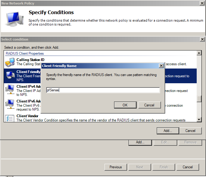 network access and authentication policy created Network policy server create a new windows server 2008 r2 or windows server 2012 machine  open up server manager, click add roles, click next on the before you begin screen, check network policy and access services and click next, click next on the introduction screen, check network policy server  (nps-network policies-authentication.